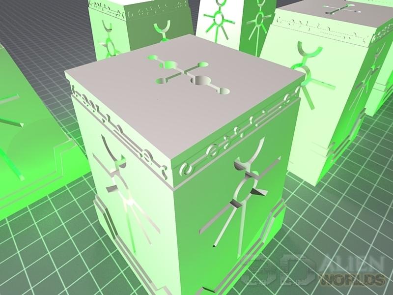 KitaQ Gamers - 3D Printing Terrain : 3Dプリンター情景モデル